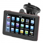 "5"" Resistive Screen WinCE 6.0 GPS Navigator w/ FM Transmitter / TF / 4GB / Brazil Map - Black + Red"