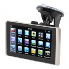 "5"" Resistive Screen Win CE 6.0 GPS Navigator w/ FM / SD / 4GB / European Map - Black + Champagne"