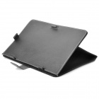 "Universal Protective PU Leather Case for 10"" Tablet PC - Black"