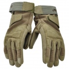 Blackhawk Outdoor Military Tactical Full Finger Gloves - Army Green (Size-M)