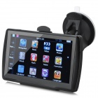 "ST-008 5"" Resistive Win CE 6.0 GPS Navigator w/ FM Transmitter / Internal 4GB Europe Map - Black"