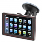 "5"" Resistive Screen Win CE 6.0 GPS Navigator w/ FM Transmitter / 4GB / European Map - Black + Red"