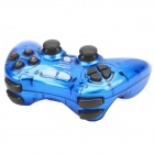 Dual Shock 2.4GHz Wireless PC Game Joypad Controller - Blue (3 x AAA)