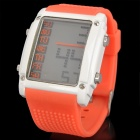 Otage Wasserdichte Digital-Armbanduhr w / Wecker / Stoppuhr - Orange (1 x SR626)