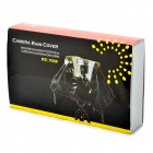Camera Rainproof Cover Protector for DSLR - Black + Transparent White