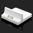 USB Charging Dock Station w/ Charging Cable for Apple iPad - White