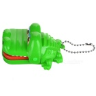 Mini Crocodile Dentist Mechanical Toy Keychains (2-Pack)