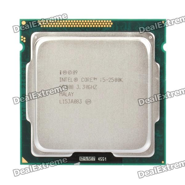 Intel Core i5-2500K Sandy Bridge 3.3GHz LGA 1155 95W Quad-Core Processor Intel HD Graphics 3000