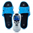 "2.2"" LCD Digital Meridian Pulse Machine Massager - Silver (4 x AAA)"