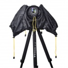 Medium Size Digital SLR Camera Rain Cover - Black