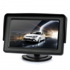 "4.3 ""LCD Rear-View Dual-Input monitor do carro - Black"