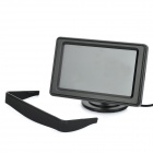 "4.3"" LCD Rear-View Dual-Input Car Monitor - Black"