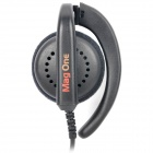Genuine Motorola PMLN4443A Walkie Talkie Ear-Hook Headset w/ Microphone - Black (2.5 / 3.5mm-Plug)