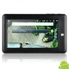 "Plusme 7"" Capacitive Android 2.3 Tablet w/ WiFi / Camera / G-Sensor / HDMI - White + Black (A8/4GB)"