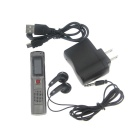 "JD-8099 1.1"" LCD Digital USB Rechargeable Voice Recorder w/ MP3 Player (4GB)"