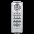 Rechargeable 16-LED 2-Mode White Light Emergency Lamp - White