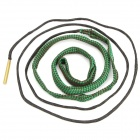 Hoppe's 9 BoreSnake Rifle Gun Bore Cleaner - Green + Black (Fits 5.56mm Caliber Guns)
