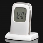 "Push Panel Control Alarm Clock w/ Time / Temperature / Date / Timer / USB 2.0 4-Port Hub (2.2"" LCD)"