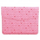 Cute Bear Pattern Protective PU Leather Case for Ipad Series - Pink