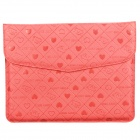 Cute Bear Pattern Protective PU Leather Case for Ipad Series - Red
