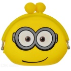 Stylish Silicone Purse Wallet - Yellow