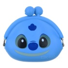 Stylish Silicone Purse Wallet - Blue