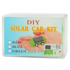 Mini Solar Powered Toy Car - Random Color