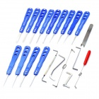 20-in-1 Universal Civil Lock Pick Set
