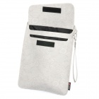 Protective PU Leather Case Pouch for Ipad 2 / The New Ipad - Grey