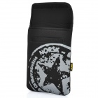 Stylish Protective Padded Inner Bag for Ipad 2 / The New Ipad - Black