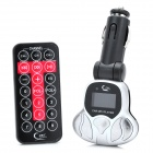 "1.0"" LCD Car MP3 Player with Remote Control with USB / SD / TF / FM (1 x CR1220)"