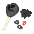 Toyota Car 3-Button Remote Key Casing (No Logo)