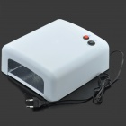 36W UV Lamp Nail Art Gel Curing Tube Light Dryer (2-Round-Pin Plug)