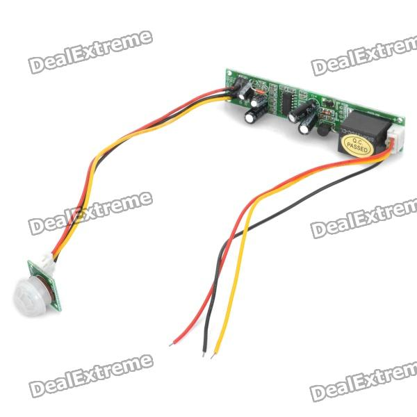 IR Infrared Motion Detector Sensor Module (DC 5V~12V) fan module for 07h6590 p670 mda m well tested working
