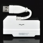 "Super Speed USB 3.0 to SATA Adapter Cable for 2.5"" SATA-1 / SATA-II HDD (White)"