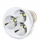 XM-LT6 3-LED 2200LM White Light 5-Mode Flashlight Drop-in Module - Silver + Golden (3.5-8.4V/2.8A)