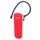 K69 Bluetooth V3.0+EDR A2DP Stereo Handsfree Headset - Red (5-Hour Talk / 70-Hour Standby)