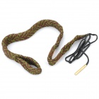 Hoppe's 9 BoreSnake Rifle Gun Bore Cleaner for .44 .45 Caliber - Army Green