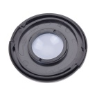 72mm Camera White Balance Lens Cap Cover - Black + White