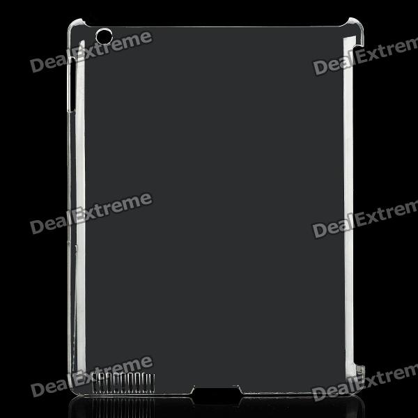 Stylish Crystal PC Case Cover for New Ipad - Transparent