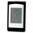 Wireless Indoor & Outdoor Pool Thermometer - Black + Silver (2 x AA / 2 x AAA)