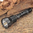 Prairie Fire D6 Cree XM-L T6 800LM 5-Mode Cool White Light Flashlight - Black (1 x 18650)