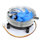 Professional CPU Heatsink with Cooling Fan - Silver + Blue + Black