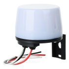 Intelligent Sensor Light Control Switch - White + Black (220V)