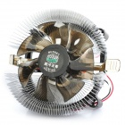 Professional CPU Heatsink with Cooling Fan - Silver