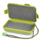 Waterproof Plastic Box w/ Strap for flashlight - Army Green (S-size)