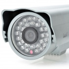 EasyN H3-A105 Outdoor Waterproof 300KP CCD Network IP Camera w/ 24-LED Night Vision