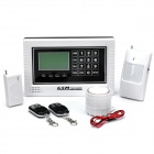 "3.0"" LCD Intelligent Auto-Dial Security Alarm System (Dual-Band)"