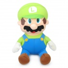 Super Mario Figure Foam Particles Doll Toy - Luigi