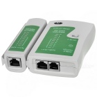 RJ45 RJ11 2-in-1 Network and Phone Cable Tester - Grey